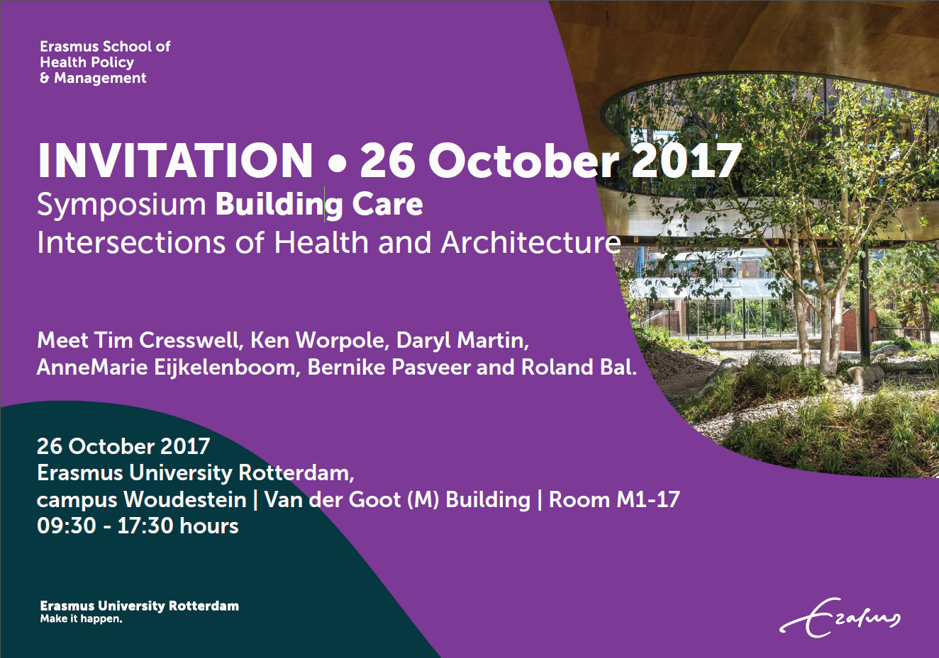 invitation symposium building Care